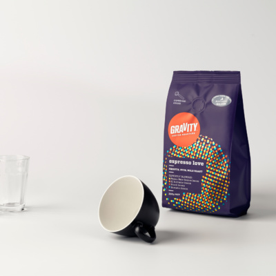 Gravity Coffee Packaging