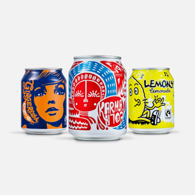 Karma Cola Co. — Cans