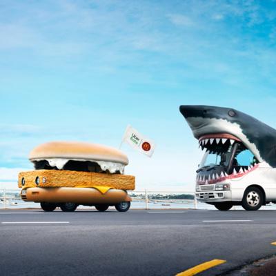 Uber Eats Sharkbait